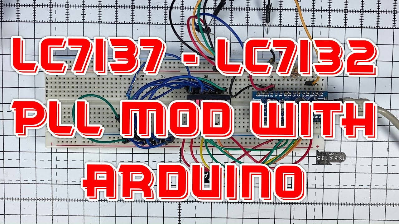 EP 014 – LC7132 / LC7137 PLL Mod with Arduino – Part 1 [CB]
