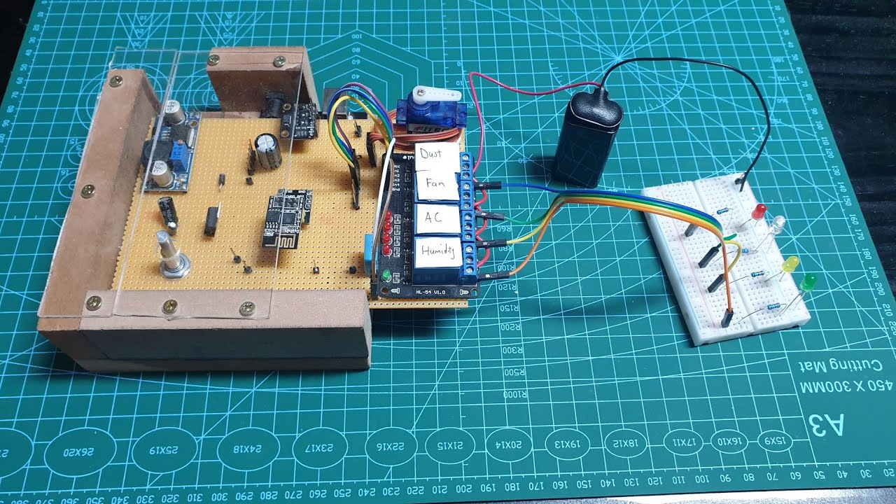Workshop Automation with Arduino