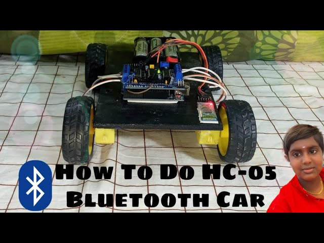 《How To Make HC-05 Bluetooth Controlled Car With Arduino UNO》[Easily]|#lingeswar_time